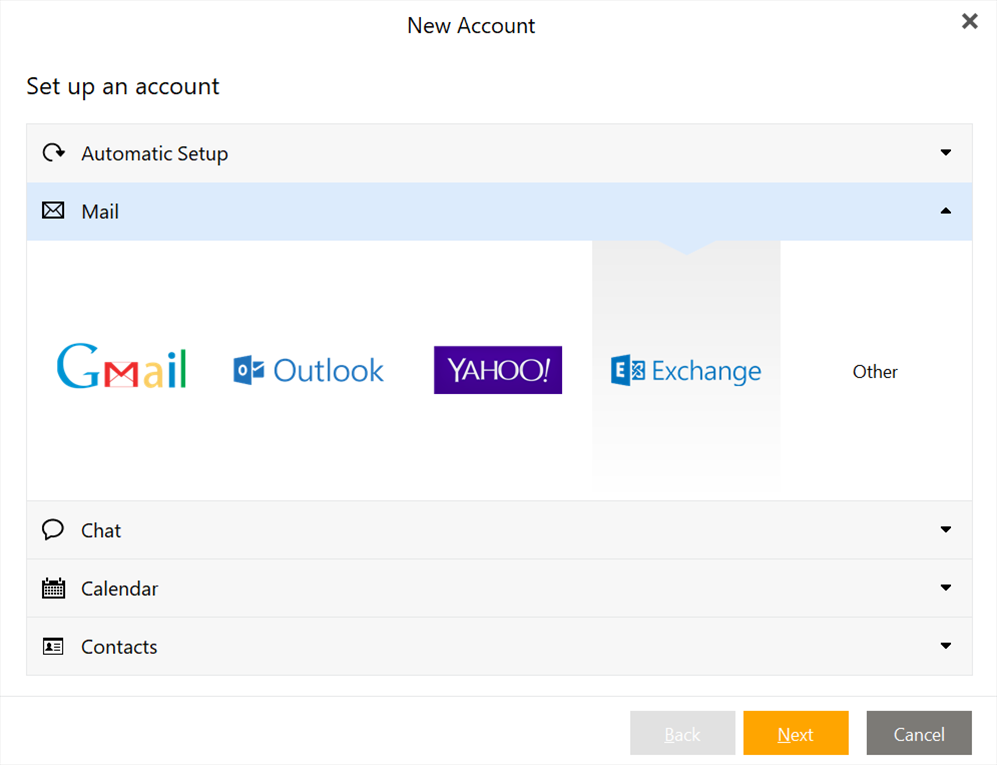 eM Client for Microsoft Exchange | eM Client