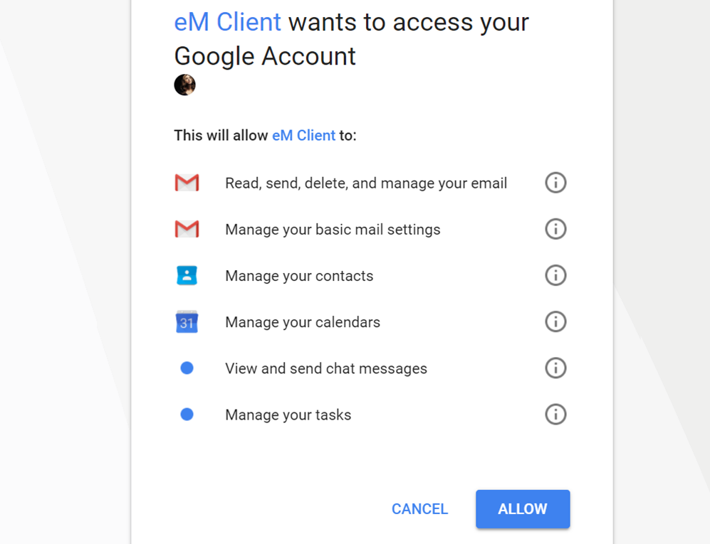 Email Client for Gmail and Google Apps | eM Client