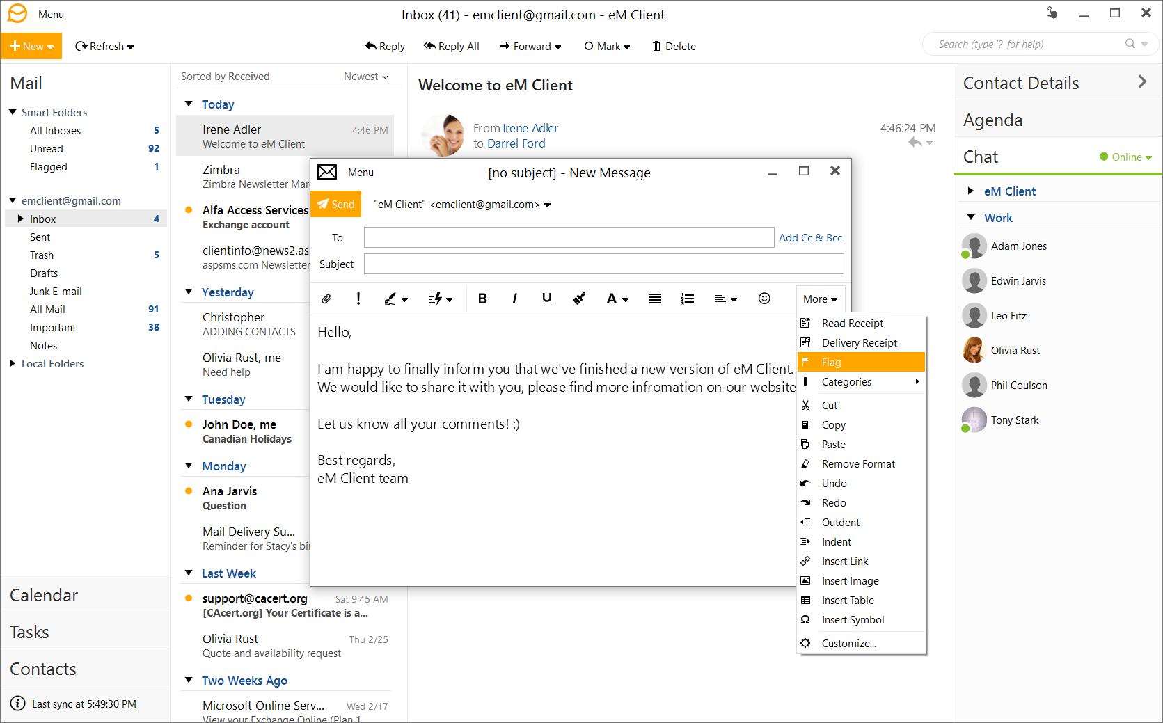 eM Client Pro 8.1.874.0 License Key Free Download 2021