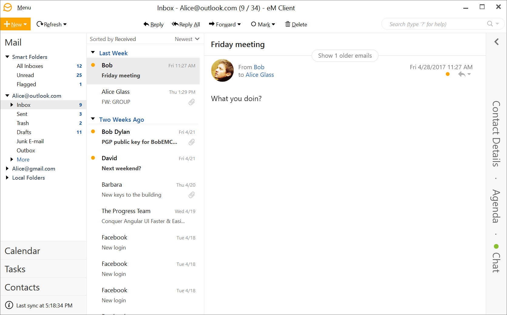 eM Client | Best Email Client for Windows XP, Vista, 7, 8 and 10