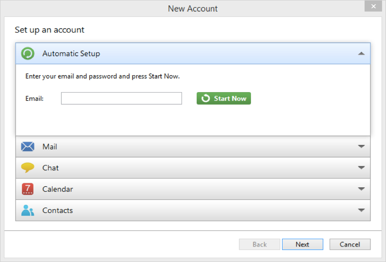Now Simply Enter Your Office 365 Email Address Into The Automatic Setup  Field, Confirm, Enter The Password And Click Next.