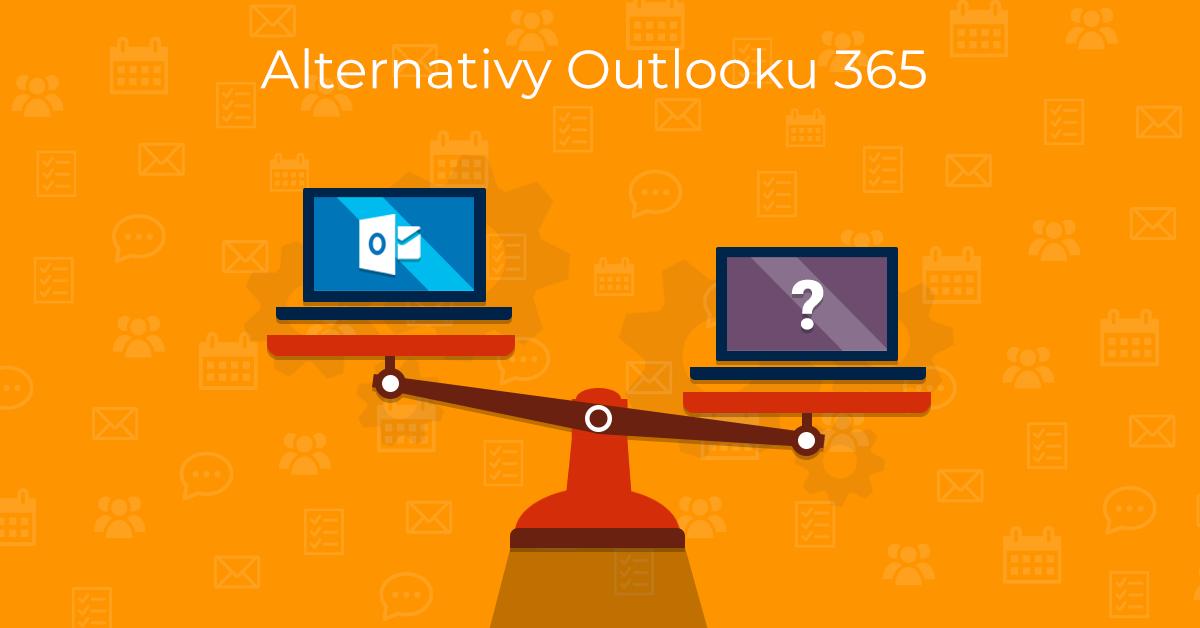 Alternativy Outlooku 365 - ilustrace