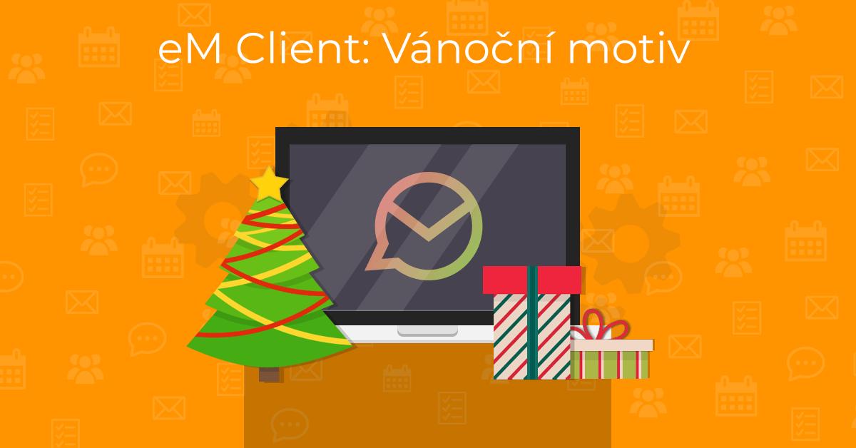 eM Client Christmas Theme