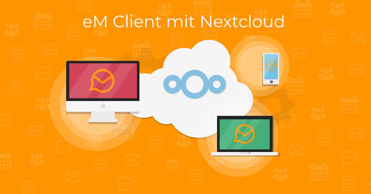 eM Client mit Nextcloud