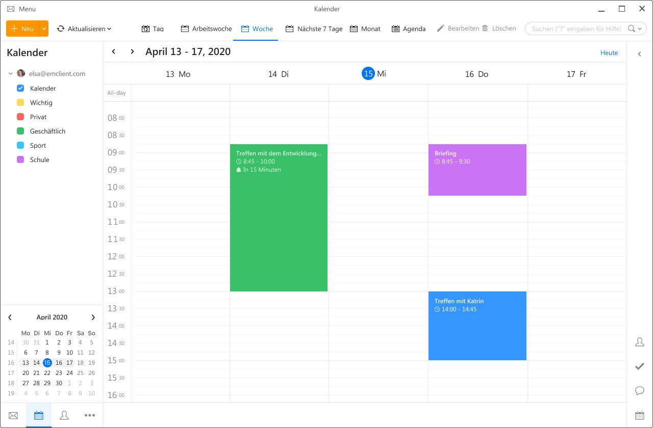 New Calendar