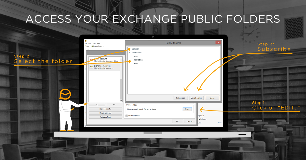 introducing public folders for Exchange