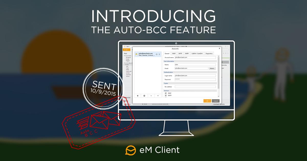 eM Client Auto-BCC