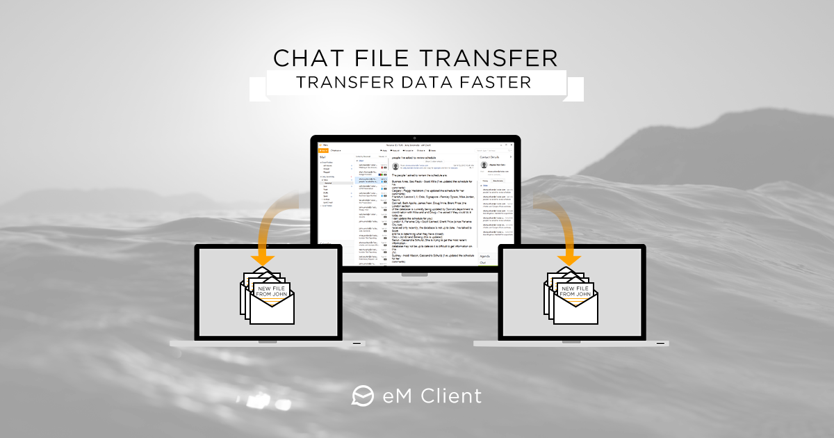 File Transfers over chat