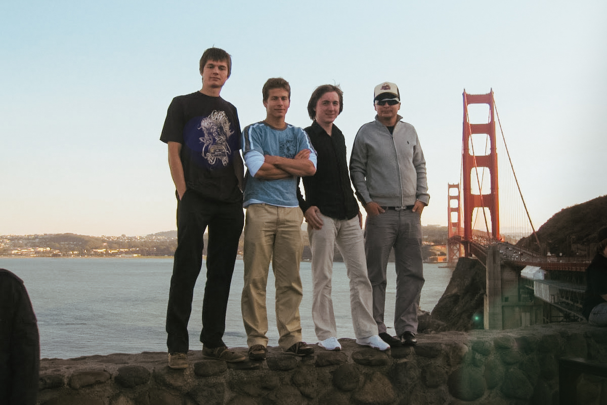eM Client Founders Golden Gate Bridge