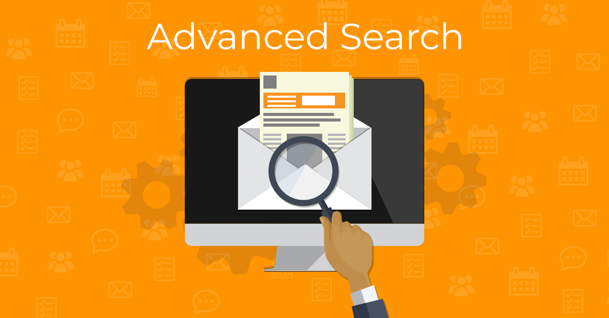 Advanced Search in eM Client