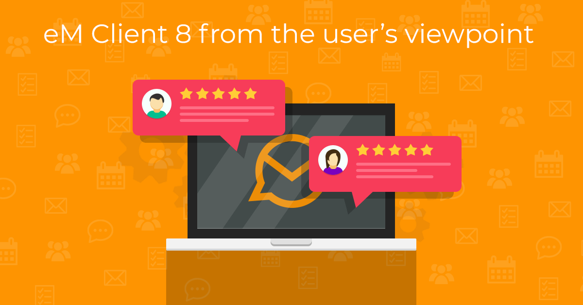 eM Client User Review Illustration