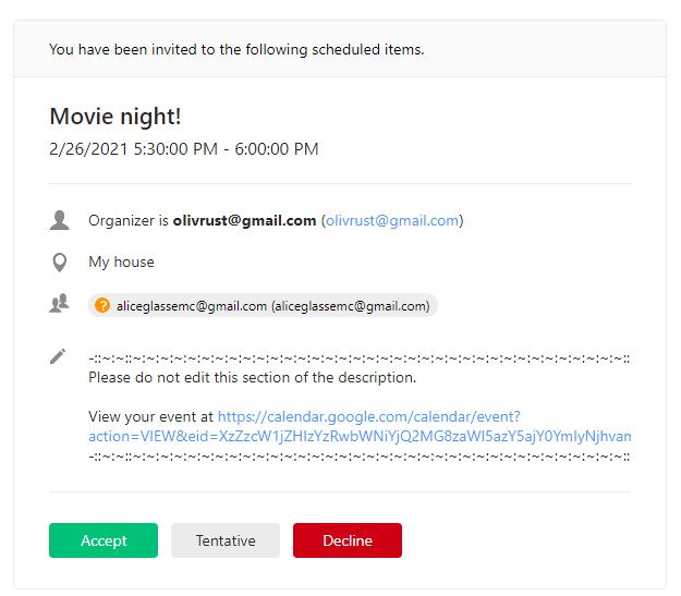 eM Client 8.2: Revamped Invitation email design