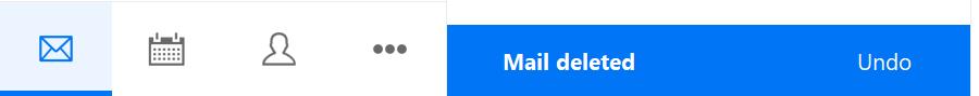 Deletion notification
