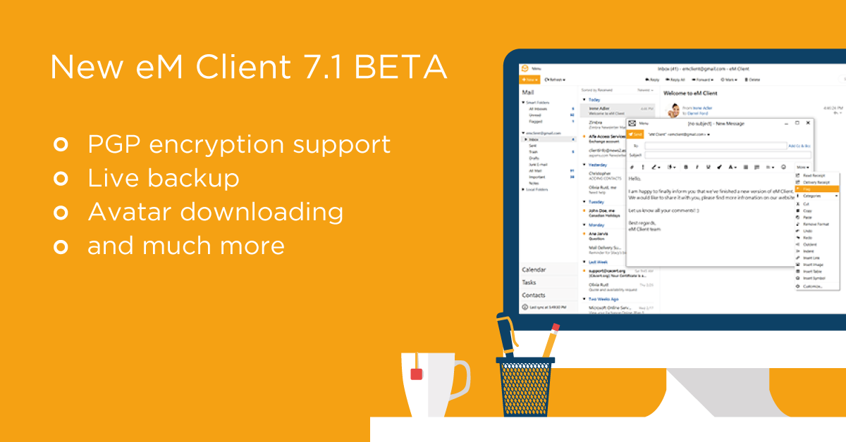 eM Client 7.1 BETA